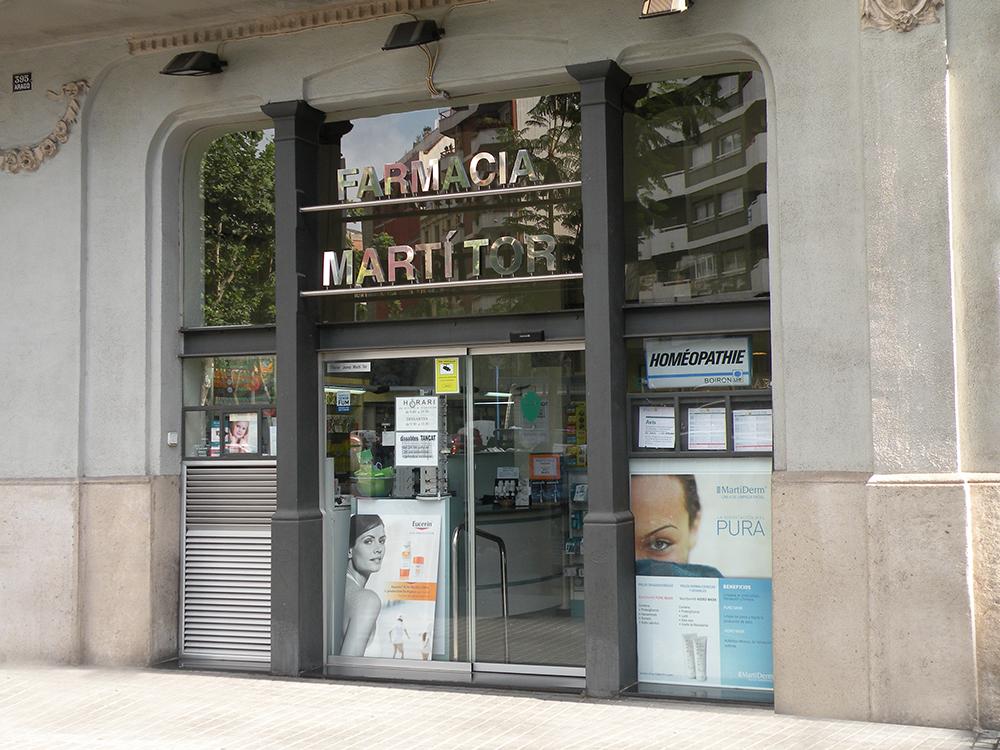 Farmacia Martí Tor, desde 1952